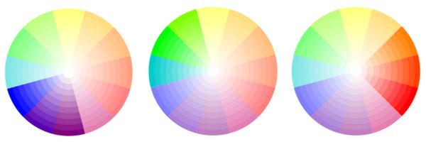 Association de couleurs analogues