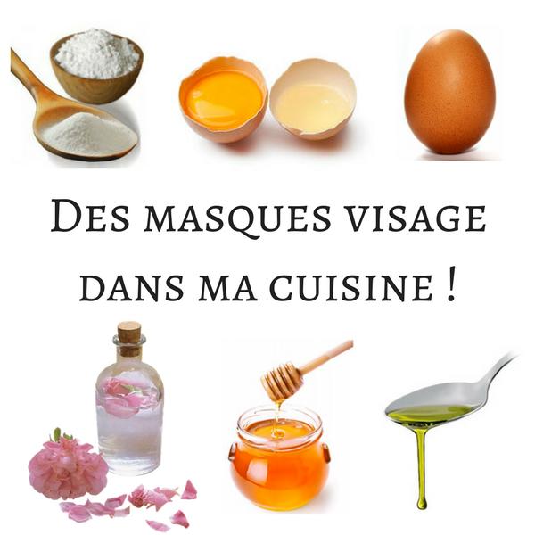 3 recettes de masques visage dans ma cuisine r v lez votre image. Black Bedroom Furniture Sets. Home Design Ideas