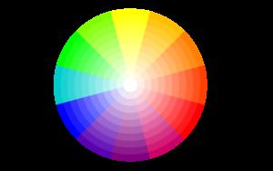 cercle chromatique, bien associer les couleurs