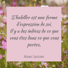 citation de Marc Jacobs
