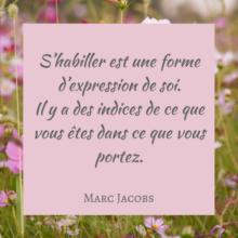 citation de Marc Jacobs