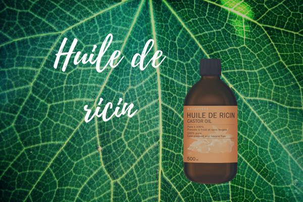 huile de ricin, routine cheveux