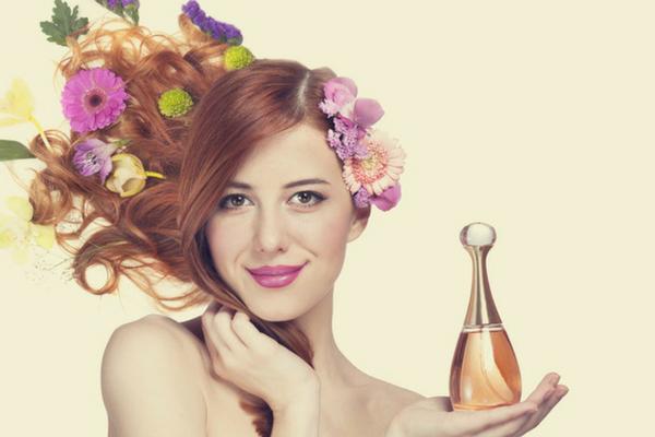 shampoing parfum, cosmétique parfum