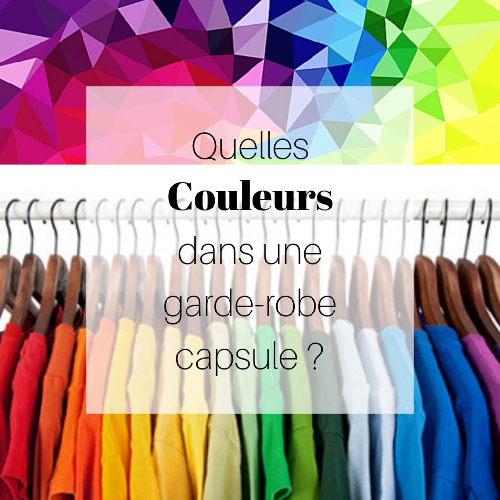 Quelles couleurs dans une garde-robe capsule