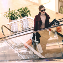 shopping actif, shopping passif