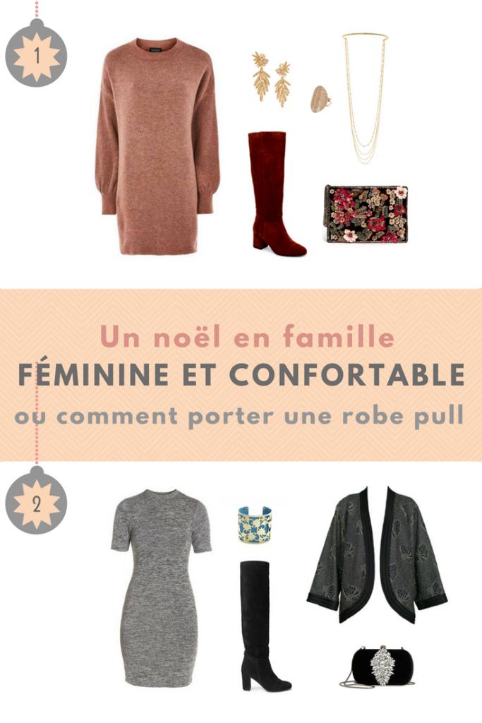 tenue de noël, tenue de fête, tenue féminine et confortable
