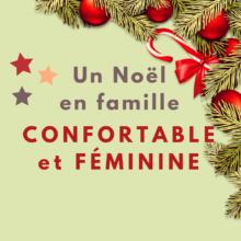tenue de noël, tenue de fête, féminine et confortable