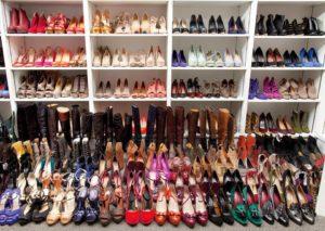 Trop plein de chaussures