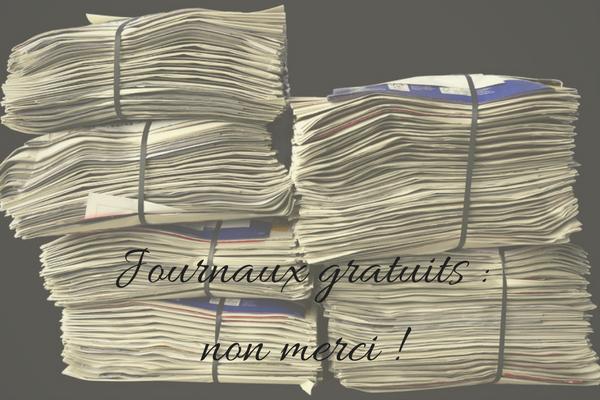 zéro déchets, journaux gratuits, déchets papier